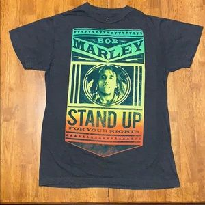 Men's Bob Marley Stand Up For Your Rights TShirt